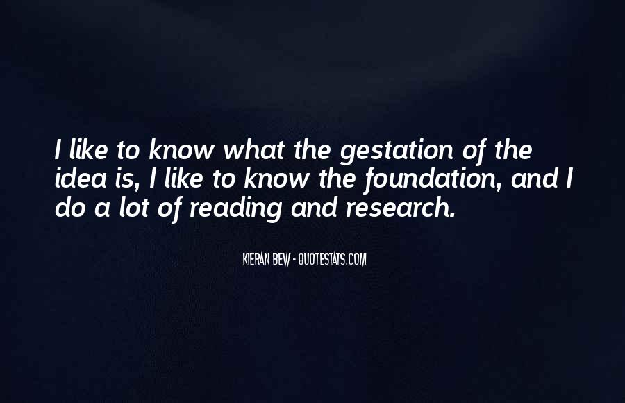 Quotes About Gestation #1643332