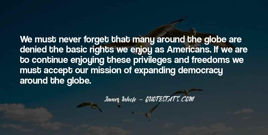 Quotes About Rights And Freedoms #1612781