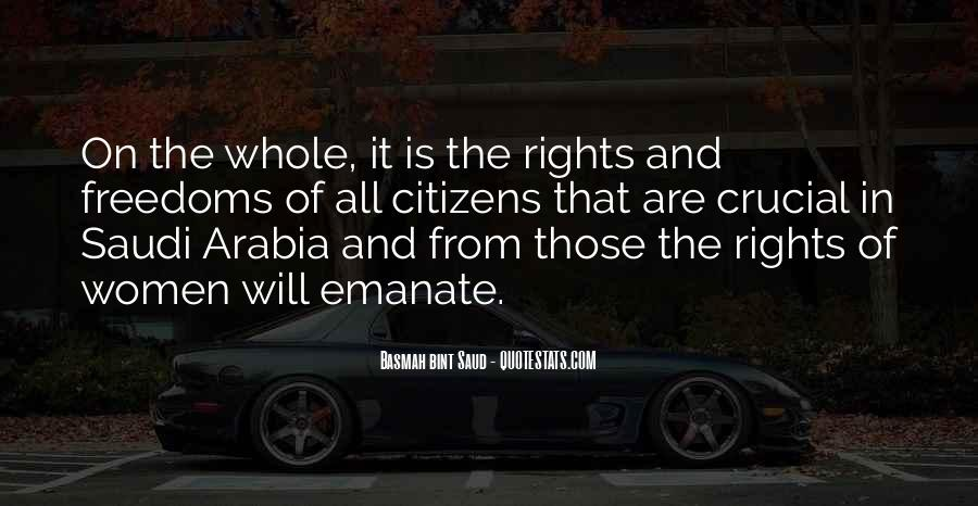 Quotes About Rights And Freedoms #1707803