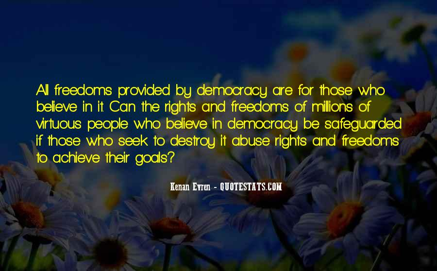 Quotes About Rights And Freedoms #556356
