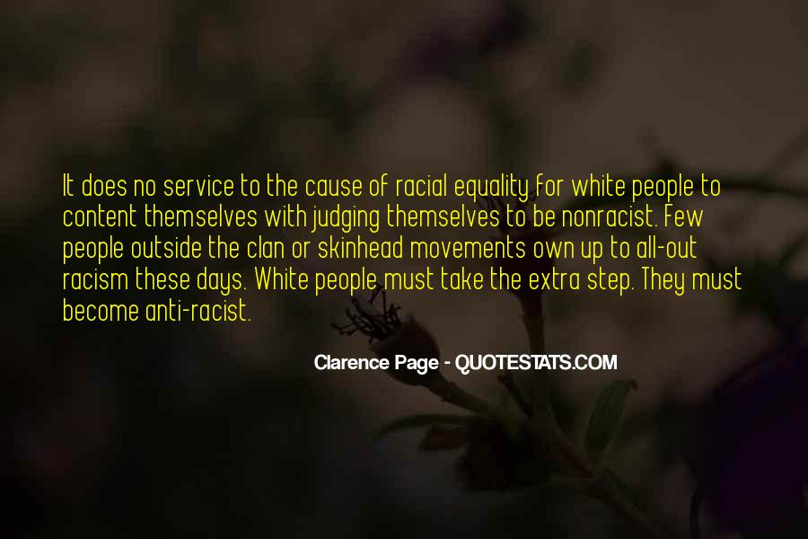 Quotes About White Racism #23173