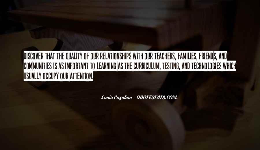Quotes About Quality Friends #1441636