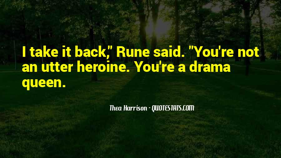 Quotes About Drama #27697