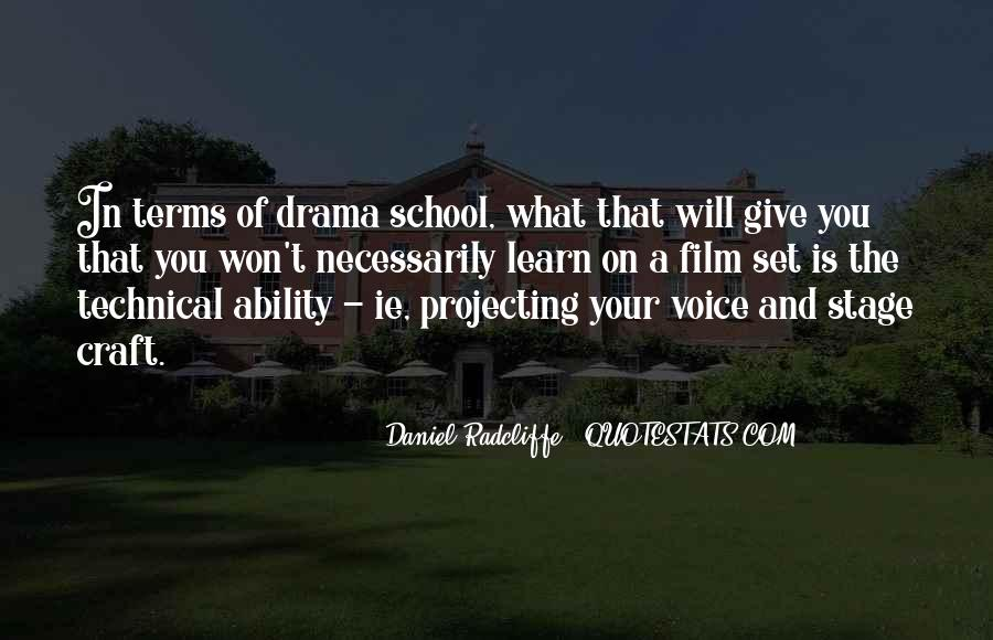Quotes About Drama #47136