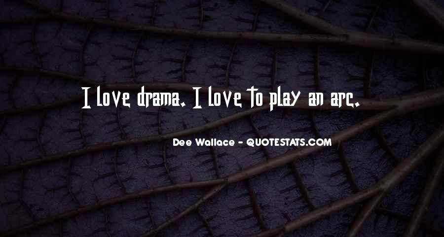 Quotes About Drama #7466