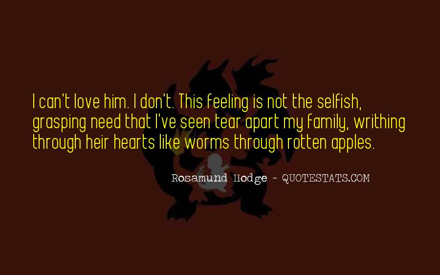 Quotes About The Selfish #122868