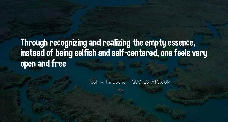 Quotes About The Selfish #36331