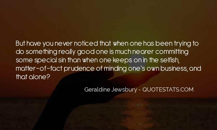 Quotes About The Selfish #45919