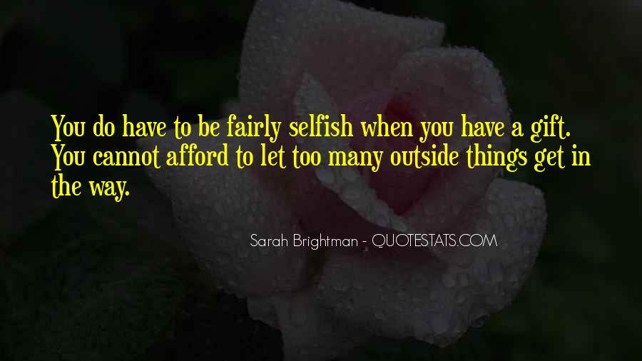 Quotes About The Selfish #5730