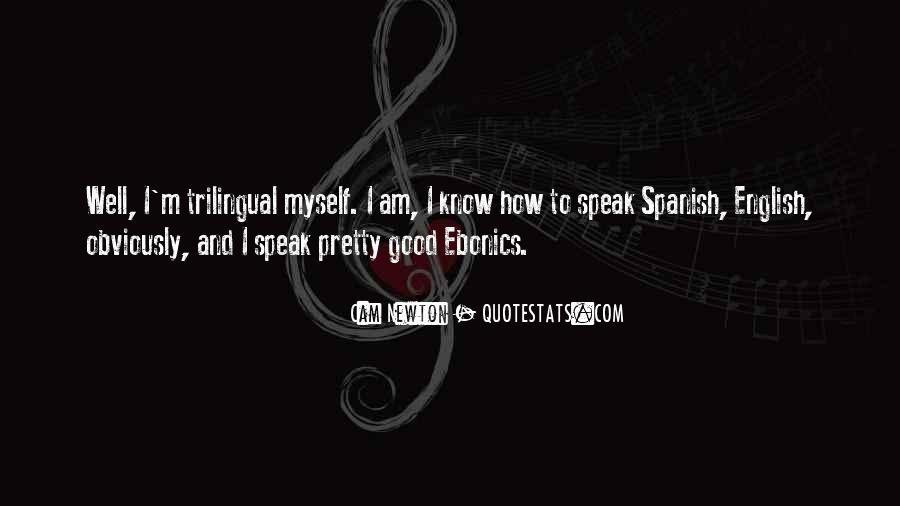 Quotes About Ebonics #695965