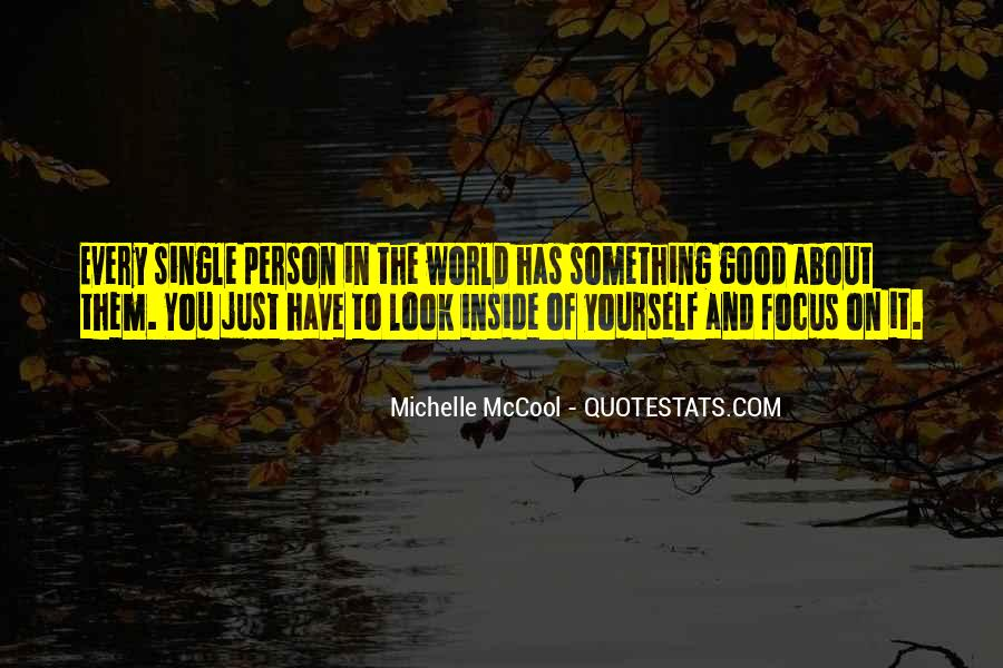 Quotes About Not Being A Good Person #10678