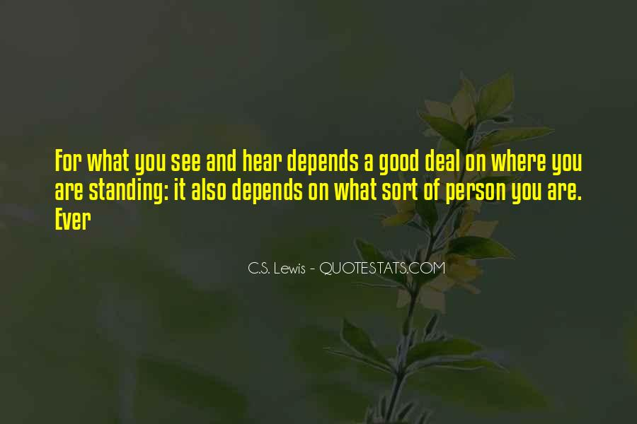Quotes About Not Being A Good Person #25908