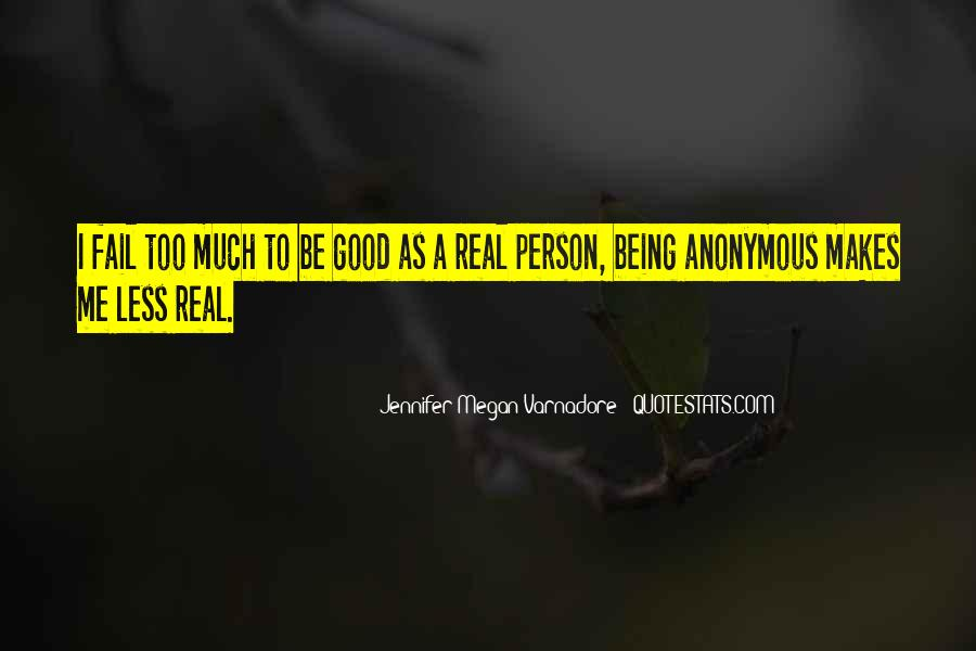 Quotes About Not Being A Good Person #37086