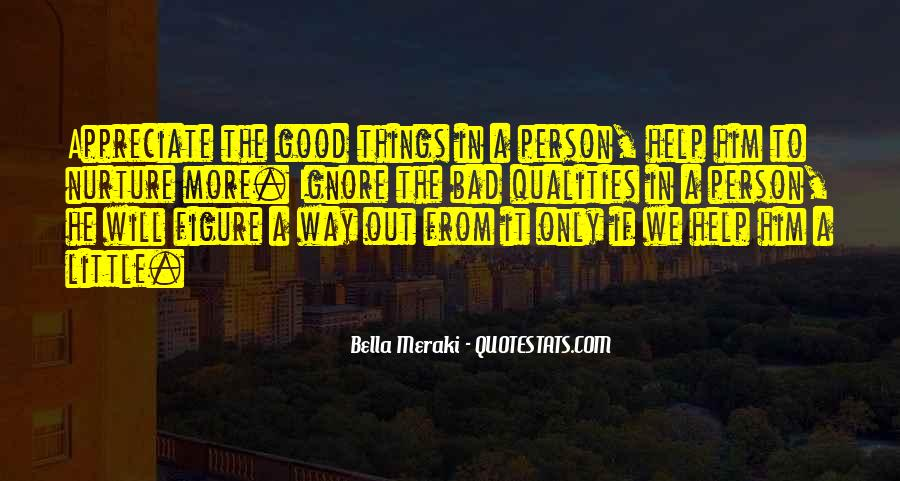 Quotes About Not Being A Good Person #41342