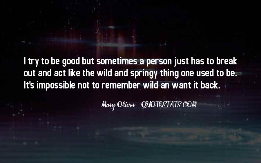 Quotes About Not Being A Good Person #46987