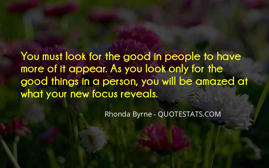 Quotes About Not Being A Good Person #53662
