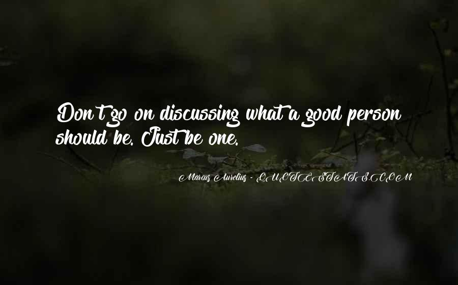 Quotes About Not Being A Good Person #67101