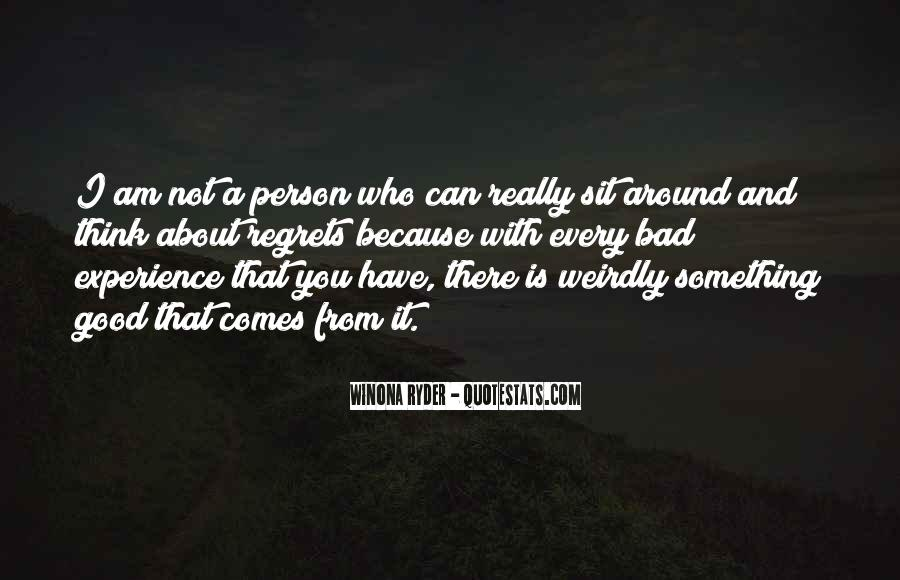 Quotes About Not Being A Good Person #70725