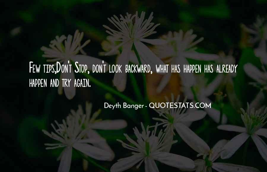 Quotes About Don't Stop #112263
