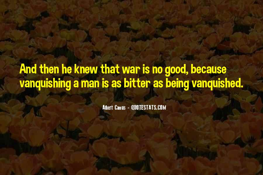 Quotes About Vanquished #1211910