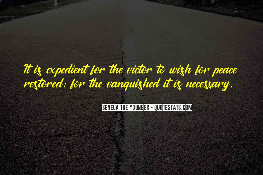 Quotes About Vanquished #1294472