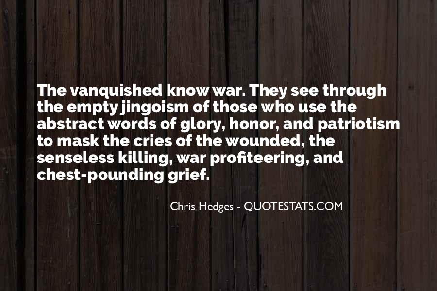 Quotes About Vanquished #1476973