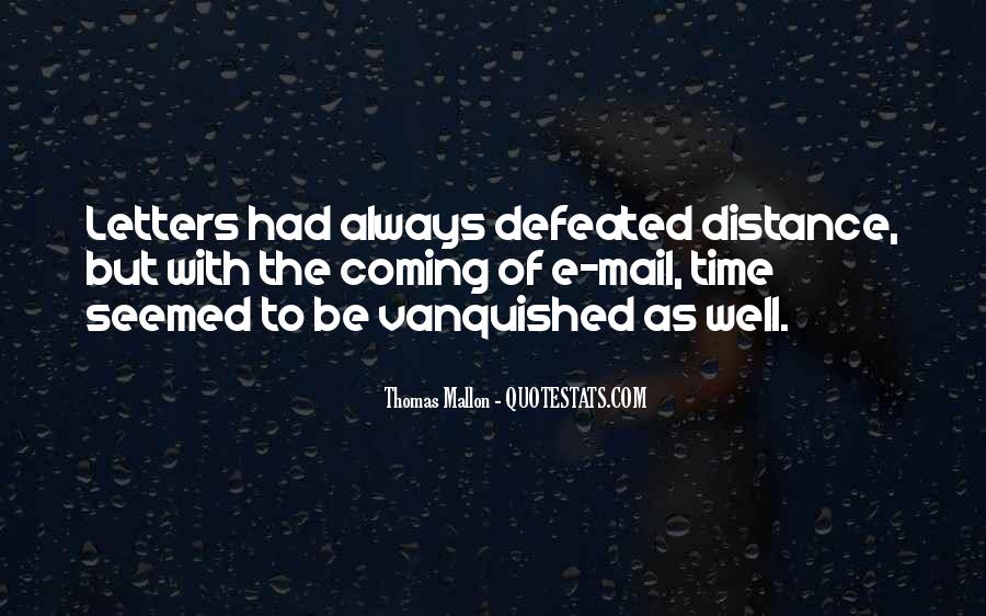 Quotes About Vanquished #201393