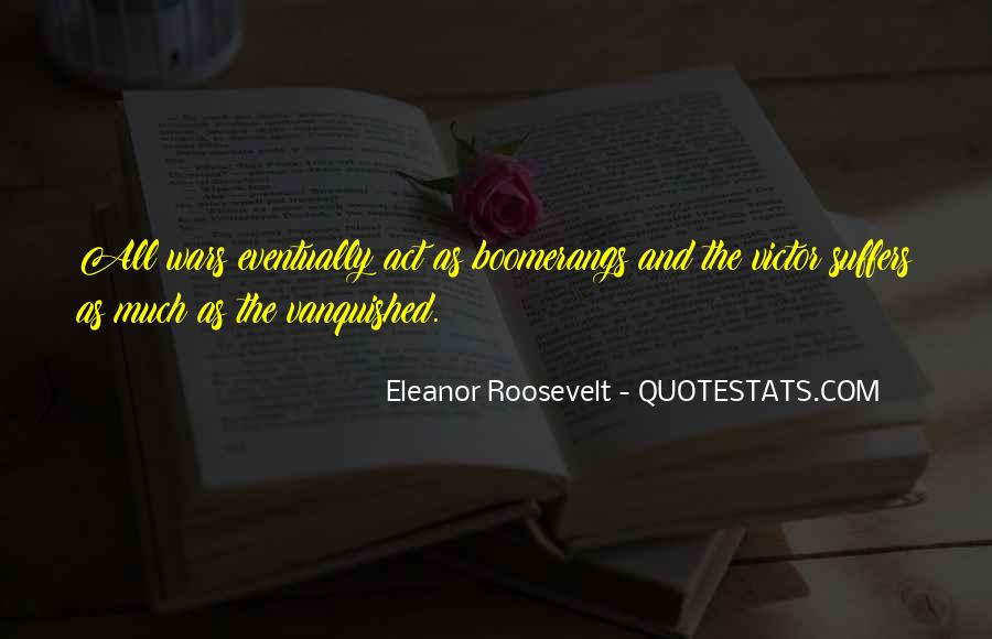 Quotes About Vanquished #3478