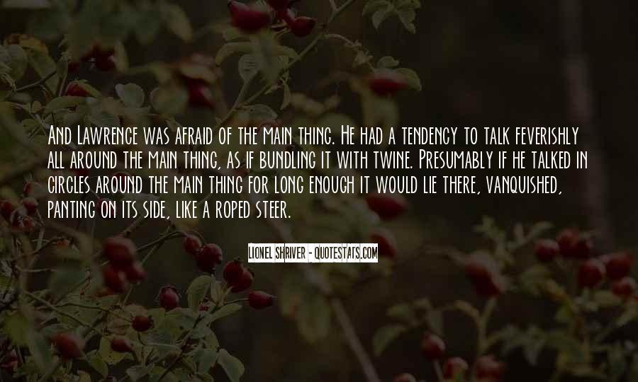 Quotes About Vanquished #67085