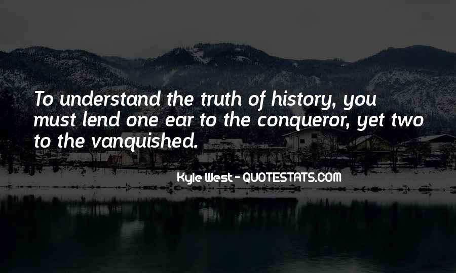 Quotes About Vanquished #843313