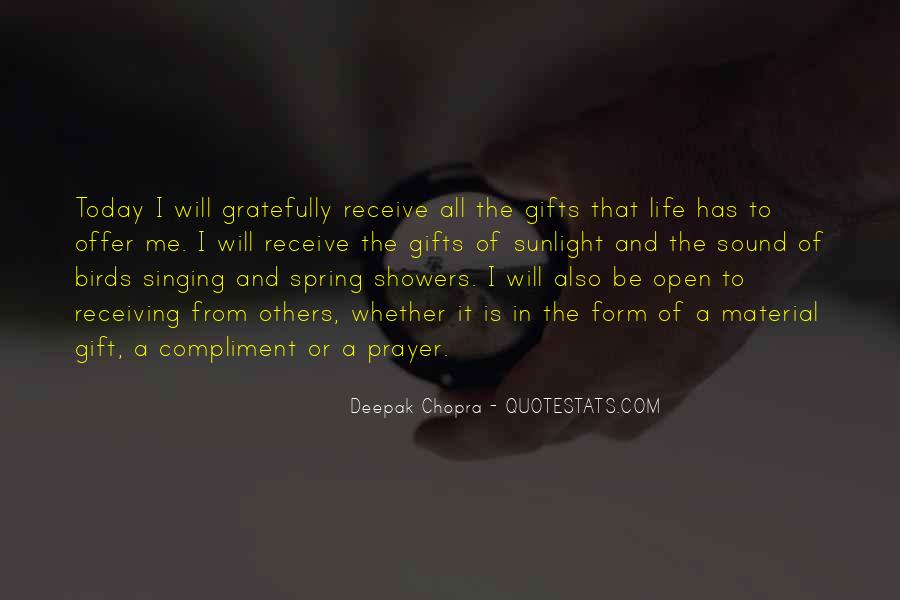 Quotes About Today Is A Gift #109686