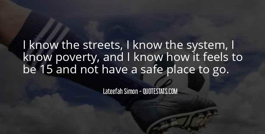 Quotes About A Safe Place #257043
