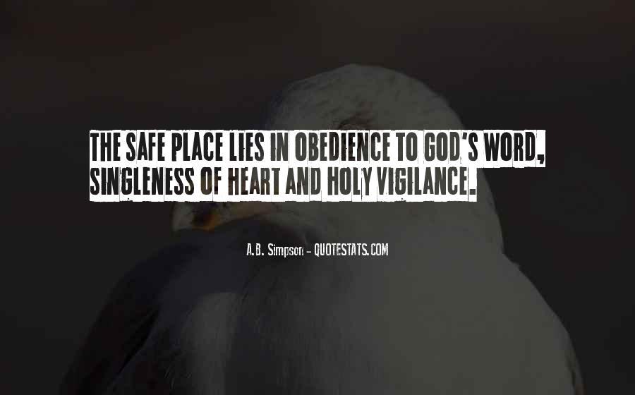 Quotes About A Safe Place #273845