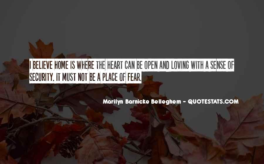 Quotes About A Safe Place #448077