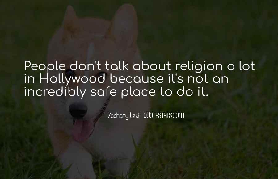 Quotes About A Safe Place #457477