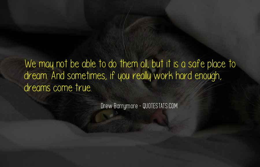 Quotes About A Safe Place #55188