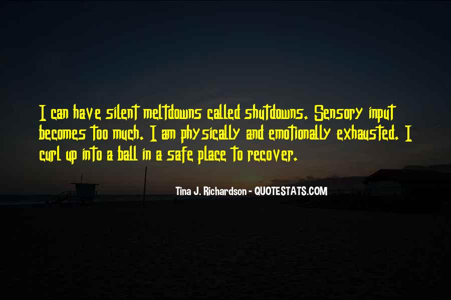 Quotes About A Safe Place #628066