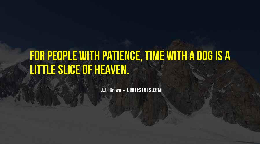 Quotes About Heaven And Dogs #1103685
