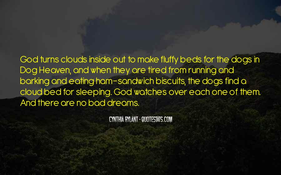 Quotes About Heaven And Dogs #18935