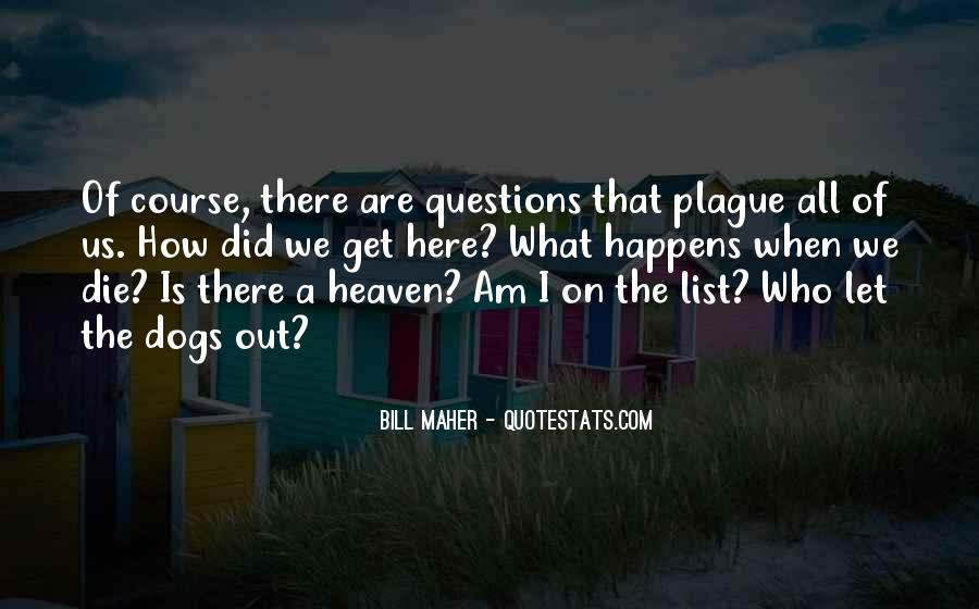Quotes About Heaven And Dogs #244800