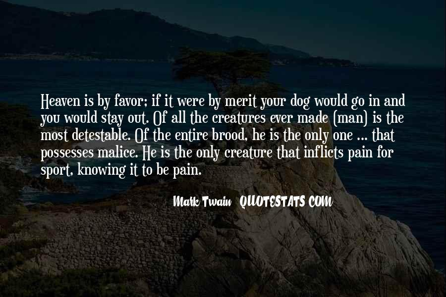 Quotes About Heaven And Dogs #736230
