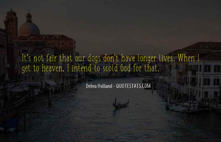 Quotes About Heaven And Dogs #957839