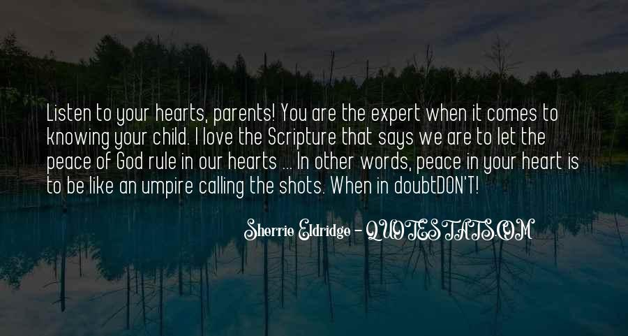 Quotes About God Knowing Your Heart #1004626
