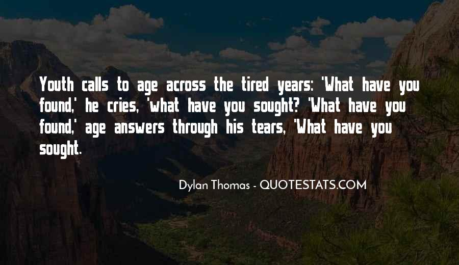 Quotes About Age Over Youth #61540