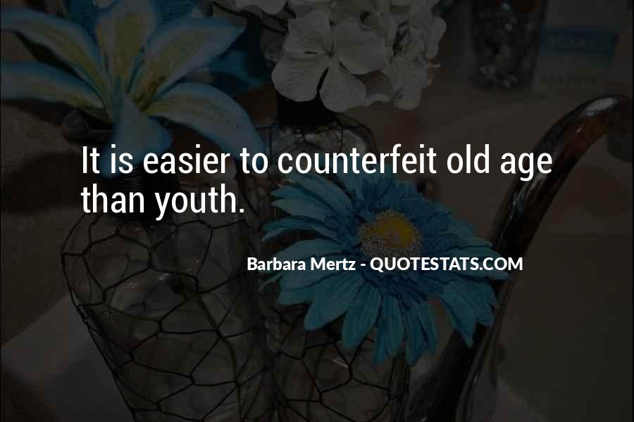 Quotes About Age Over Youth #65470