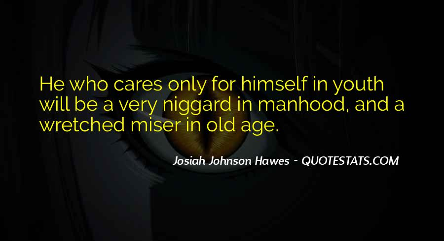 Quotes About Age Over Youth #6643