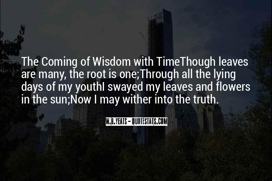 Quotes About Age Over Youth #66632