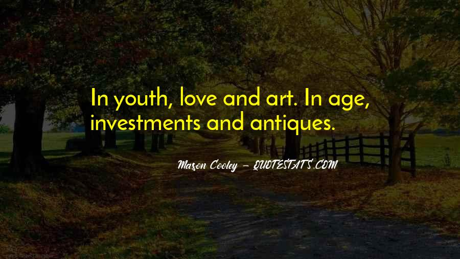 Quotes About Age Over Youth #77647