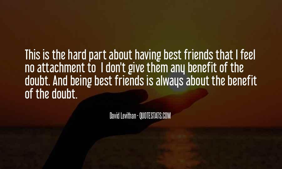 Quotes About No Having Friends #1059496