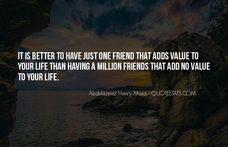 Quotes About No Having Friends #373980